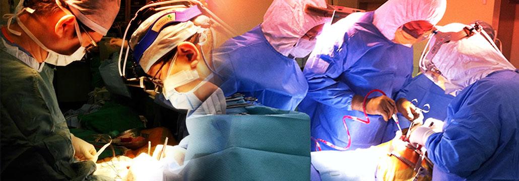 Doctors surgical procedure